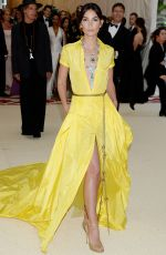 LILY ALDRIDGE at MET Gala 2018 in New York 05/07/2018