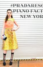 LILY COLLINS at Prada Resort: 2019 Show in New York 05/04/2018