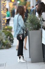 LILY COLLINS Out and About in Beverly Hills 05/22/2018