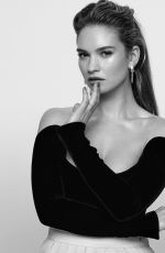 LILY JAMES in L
