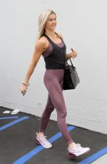 LINDSAY ARNOLD Arrives at Dancing with the Stars Studio in Hollywood 05/18/2018