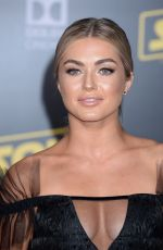 LINDSAY ARNOLD at Solo: A Star Wars Story Premiere in Los Angeles 05/10/2018