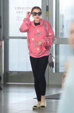 LINDSAY LOHAN at JFK Airport in New York 05/05/2018