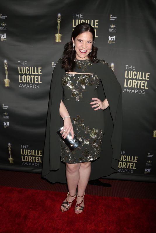 LINDSAY MENDEZ at 2018 Lucille Lortel Awards in New York 05/06/2018