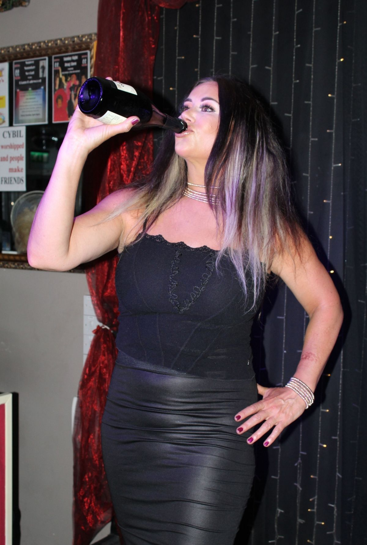 LISA APPLETON Celebrate Her 50th Birthday In Blackpool 05 22 2018