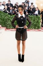 LIZA KOSHY at MET Gala 2018 in New York 05/07/2018