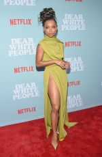 LOGAN BROWNING at Dear White People Premiere in Los Angeles 05/02/2018