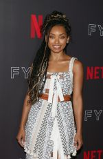 LOGAN BROWNING at Netflix Fysee Comediennes in Conversation in Los Angeles 05/29/2018