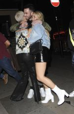 LOTTIE and INGA MOSS Night Out in London 05/19/2018