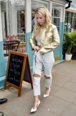 LOTTIE MOSS at Tell Your Friends Restaurant Launch in London 05/03/2018