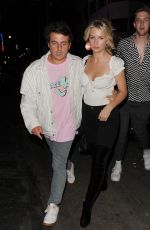 LOTTIE MOSS Night Out in London 05/10/2018