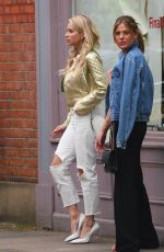 LOTTIE MOSS Out and About in Chelsea 05/03/2018