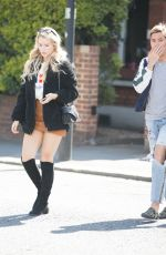 LOTTIE MOSS Out and About in London 05/17/2018