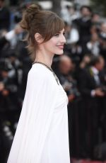 LOUISE BOURGOIN at Yomeddine Premiere at Cannes Film Festival