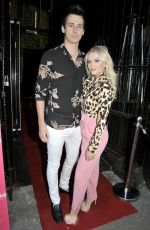 LUCY FALLON at Elegance Lash Birthday Party in Manchester 05/24/2018