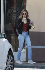 LUCY HALE and Riley Smith Out in Studio City 05/18/2018