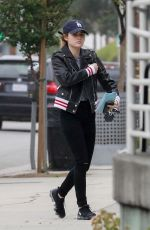 LUCY HALE at a Gas Station in Studio City 05/01/2018