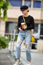 LUCY HALE at Coffee Bean in Studio City 05/21/2018