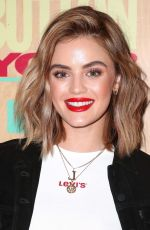 LUCY HALE at Levi's 501 Day Celebration Party in Los Angeles 05/16/2018