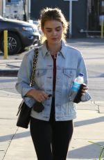 LUCY HALE Leaves a Gym in Studio City 05/14/2018