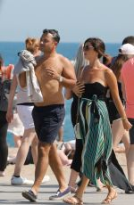 LUCY MECKLENBURGH and Ryan Thomas Out in Spain 05/25/2018