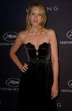 LUDIVINE SAGNIER at Kering Dinner at 71st Cannes Film Festival 05/13/2018