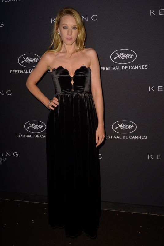 LUDIVINE SAGNIER at Kering Dinner at 71st Cannes Film Festival 05/13/2018