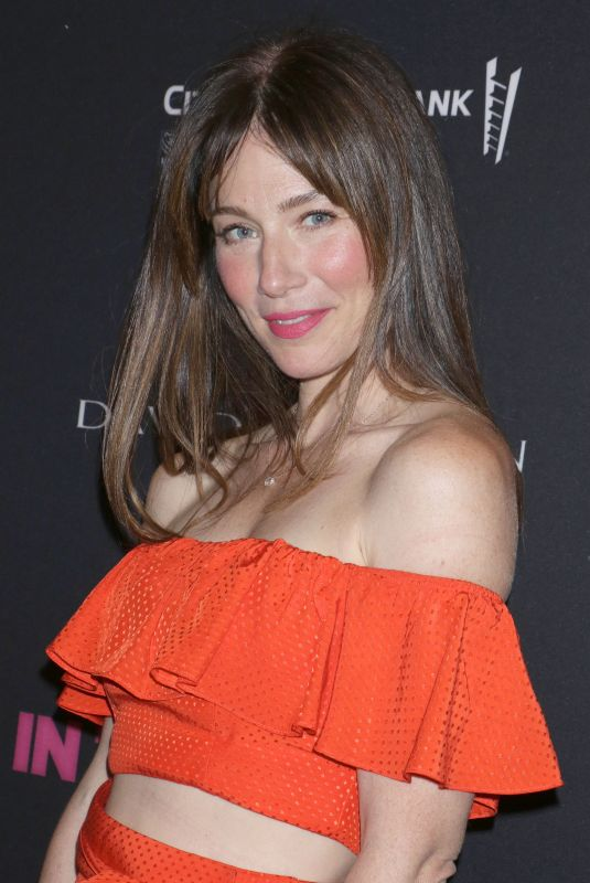 LYNN COLLINS at The Boys in the Band 50th Anniversary Celebration in New York 05/30/2018