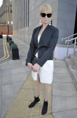 LYSETTE ANTHONY Arrives Jennifer Metcalfes Baby Christening in Liverpool 05/20/2018