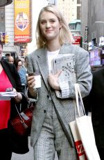 MACKENZIE DAVIS Arrives at Good Morning America in New York 05/03/2018