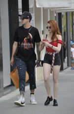 MADELAINE PETSCH Out and About in Beverly Hills 05/05/2018