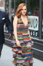 MADELINE BREWER Arrives at AOL Build Series in New York 05/29/2018
