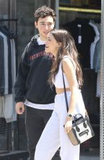 MADISON BEER and Zack Bia Out in Los Angeles 05/25/2018