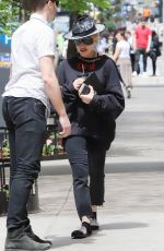 MADONNA Out and About in New York 05/05/2018