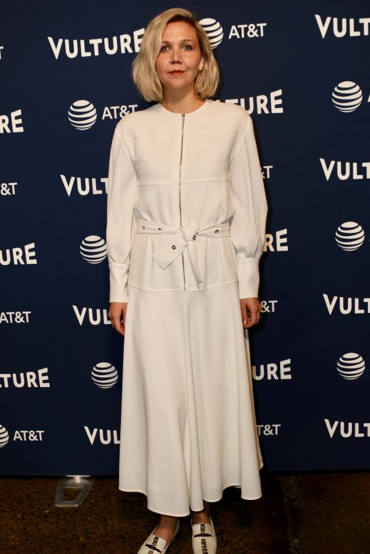 MAGGIE GYLLENHAAL at Vulture Festival in New York 05/19/2018