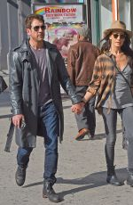 MAGGIE Q and Dylan McDermott Out in New York 05/14/2018