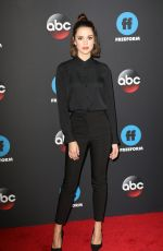 MAIA MITCHELL at Disney/ABC/Freeform Upfront in New York 05/15/2018