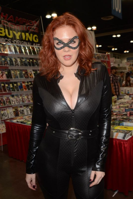 MAITLAND WARD as Catwoman at Comic-con Revolution in Ontario Convention Center 05/19/2018
