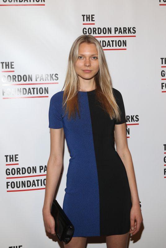 MAJA BRODIN at Gordon Parks Foundation Annual Awards Dinner in New York 05/22/2018