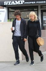 MALIN AKERMAN and Jack Donnelly Out for Coffee in Hollywood 05/30/2018
