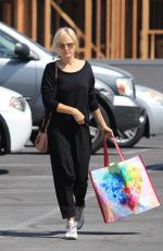 MALIN AKERMAN Out Shopping in Los Angeles 05/10/2018