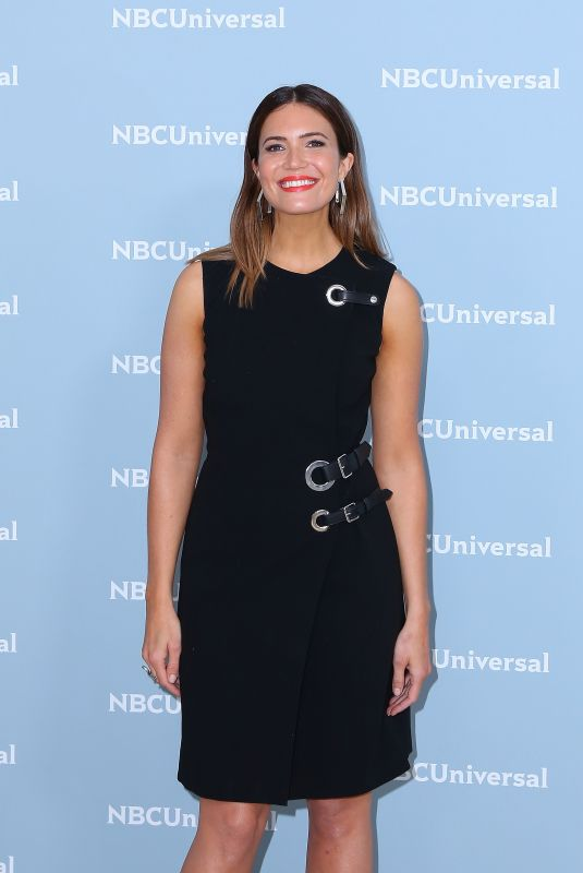 MANDY MOORE at NBCUniversal Upfront Presentation in New York 05/14/2018
