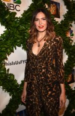 MANDY MOORE at This Is Us FYC Event in Los Angeles 05/29/2018