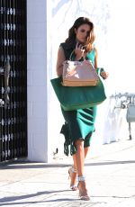 MANDY MOORE Leaves a Hair Salon in Beverly Hills 05/03/2018
