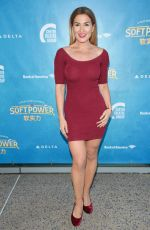MARA MARINI at Soft Power Premiere in Los Angeles 05/16/2018