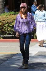 MARCIA CROSS Out for Lunch at La Scala in Beverly Hills 05/25/2018