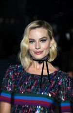 MARGOT ROBBIE at Chanel Cruise 2018/2019 Collection Launch in Paris 05/03/2018
