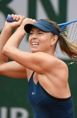 MARIA SHARAPOVA at French Open Tennis Tournament in Paris 05/29/2018