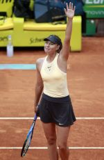 MARIA SHARAPOVA at Mutua Madrid Open at Caja Magica Sport Center in Madrid 05/09/2018