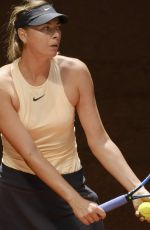 MARIA SHARAPOVA at Mutua Madrid Open in Madrid 05/06/2018